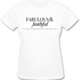 FAB  FAITH TSHIRT
